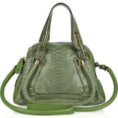 Chloé Paraty Small Python Bag