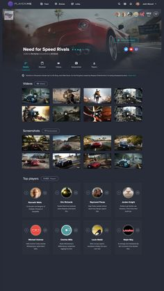 Game page (in process) by Martin Halík