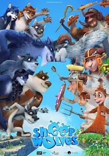 Sheep Wolves 2016 Dual Audio 720p 700mb Hindi Clean Movie Wolf Movie Sheep Full Movies