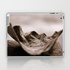 A pale leaf Laptop & iPad Skin by Fenia Stavra - $25.00