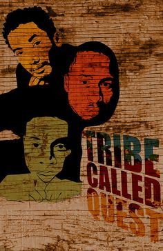 Tribe Called Quest by Dose Creative Music Film, Rap Music, Music Love, Music Is Life, History Of Hip Hop, Graffiti I, A Tribe Called Quest, Concert Posters, Music Posters