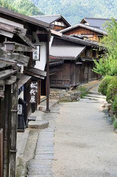 Tsumago-juku, Nagano, Japan 妻籠宿