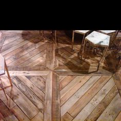 Love this floor pattern! Hard wood