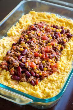 Chili Cornbread Casserole 2