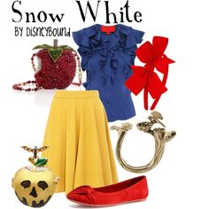 Snow White - wear to work - outfit @Holly I think I figured out my halloween costume for work!