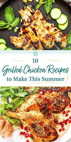 Easy Delicious Recipes, Healthy Eating Recipes, Great Recipes, Whole Food Recipes, Cooking Recipes, Tasty, Grilled Chicken Recipes, Easy Chicken Recipes, Summer Grilling Recipes