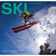 Ski 2013 Wall Calendar