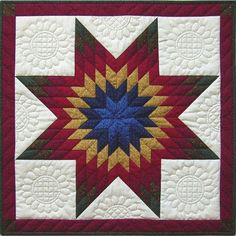 long star quilt free pattern | Weekend Kits Blog: New Quilt Kits — Make a Beautiful Wall Quilt!