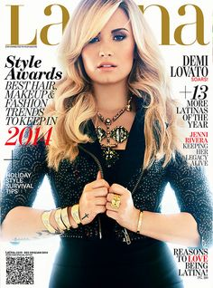 Demi Lovato looks lovely on the December 2013/January 2014 issue of Latina magazine.