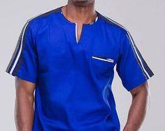 Dashiki Shirt African Shirt African Print Dashiki by AfricaBlooms