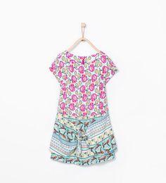 Printed knot dress from Zara Girls