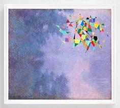 Tom Friedman, Untitled (Color Monet), 2016, Contemporary