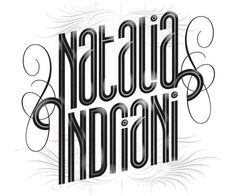 Typography australia based designer Bobby Haiqalsyah a well known designer and popular typographic.