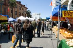 Santa Monica Farmer's Market - I try to go every time to visit!