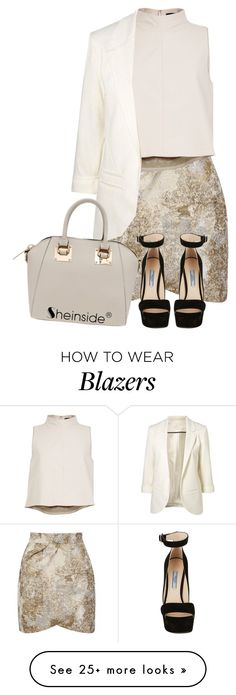 """""""She In Metallic"""" by mindless-christabel on Polyvore featuring Yumi, TIBI and Prada"""