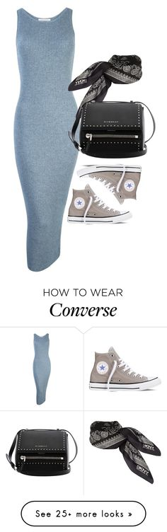 """""""Untitled #1818"""" by erinforde on Polyvore featuring Converse, DKNY and Givenchy"""