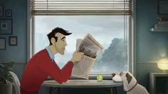 Man and Dog    Coca Cola    http://www.psyop.com/news/view/seeing-the-world-through-a-dog-s-eyes-new-hand-drawn-animated-work-for-coca-cola