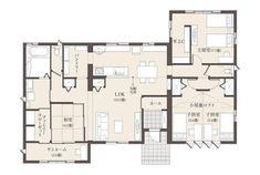 充実の設備で暮らしを快適に | 茨城セキスイハイム | 茨城県の住宅メーカー(ハウスメーカー) House Floor Plans, Flooring, How To Plan, Architecture, Ideas, Buildings, Asylum, Homes, Home Plants