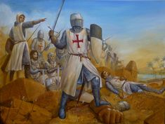 The Templars participated in several expeditions to Egypt, being active in the Fifth and Seventh Crusades, both . Templar Battle Line Crusader Knight, Knight Armor, Knights Hospitaller, Knights Templar, Medieval Knight, Medieval Armor, King Of Jerusalem, Book Clip Art, High Middle Ages