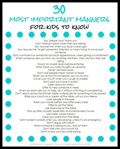Have you ever wondered how some children act one way in public while others act a completely different way? This busy mom's guide to teaching your children manners is for you! Learn practical skills to teaching your children manners, what the manners are, and why they are important in this guide. Need help remembering? Get this free printable to help you stay on course!