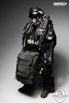 1/6 U.S. Navy SEAL HALO UDT Jumper Wet Suit Version VH-1041f Very Hot | Man of Action Figures