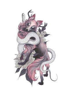 Japanese Snake Tattoo, Japanese Flower Tattoo, Japanese Tattoo Designs, Japanese Sleeve Tattoos, Tattoo Japanese Style, Japanese Tattoo Women, Full Hand Tattoo, Full Sleeve Tattoo Design, Dragon Tattoo On Hand