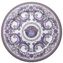 "Heritage House's Versace Le Grand Divertissement Service Plate 13"""