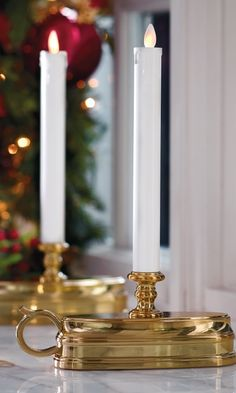 Cordless Christmas Window Candles