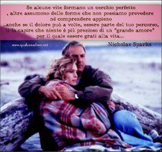 """se alcune vite formano un cerchio perfetto... dal film """"Le parole che non ti ho detto"""" (1999)"""