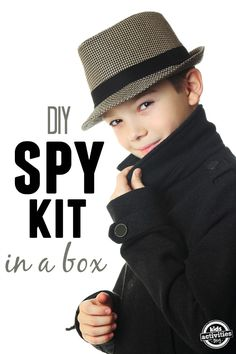 This DIY spy kit in a box is going to be the perfect little activity or gift to get your kids started on an amazing adventure!