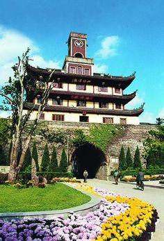 Drum-Tower in Ningbo, China