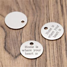 15pcs i wanna do bad thing with you Charms Silver tone disc Charms penant 20mm