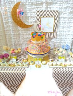 I Love You to the Moon and Back Baby Shower