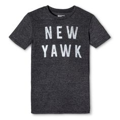 New York Local Pride by Todd Snyder Men's New Yawk Tee - Charcoal Gray