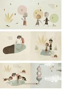 Cristian Turdera:: ilustrador, Sueños del Agua