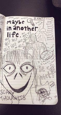 Art Drawings Sketches Simple, Doodle Drawings, Doodle Books, Skateboard Design, Im Losing My Mind, Wreck This Journal, Art Hoe, Scrapbook Journal, Art Sketchbook