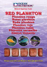 Placton rojo 100 grs.  Esta comida contiene un copépodo omnivoro llamado Calanus finmarchicus. Este crustáceo microscópico es una parte importante de la cadena alimenticia marina en el Mar Atlántico Norte. Este zooplacton es rico en pigmentos del caroteno naturales que mejorarán el color de sus animales marinos significativamente. Esta comida es fácil de distribuir igualmente en su acuario de arrecife. alimento excelente para peces, cor