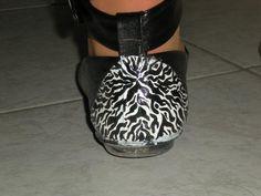 Pimp your shoes : Zebra (back)