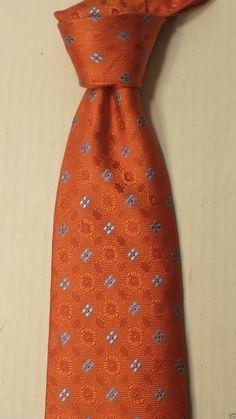 BEAU BRUMMEL men #silk dress tie orange Hand Made (no tags) visit our ebay store at  http://stores.ebay.com/esquirestore