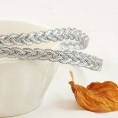 What will you use this silver braided lace trim for?