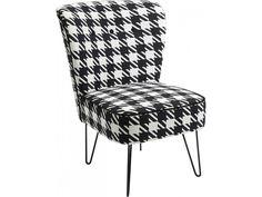 Fotel Florida I czarny — Fotele Kare Design — sfmeble.pl