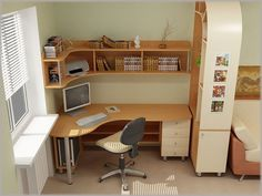 Bed Desk Solutions for Working in Bed (and What to Avoid Room Design Bedroom, Home Room Design, Home Office Design, Home Office Decor, Home Interior Design, House Design, Small Home Offices, Home Office Space, Small Rooms