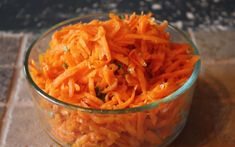 Spicy Carrot Salad  2 1/2 cups carrots (grated) 3 tbsp olive oil (extra virgin) 1 small garlic clove 1 tbsp cilantro minced 1/2 tsp sea salt 2 tbsp lemon juice or apple cider vinegar (your choice) 1 pinch cayenne pepper