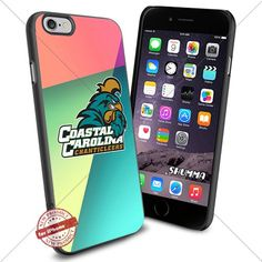 "Ncaa Coastal Carolina Chanticleers,iPhone 6 4.7"" & iPhone 6s Case Cover Protector for iPhone 6 & iPhone 6s TPU Rubber Case for Smartphone Black SHUMMA http://www.amazon.com/dp/B01C01AAEM/ref=cm_sw_r_pi_dp_kIiYwb1XFY6MM"
