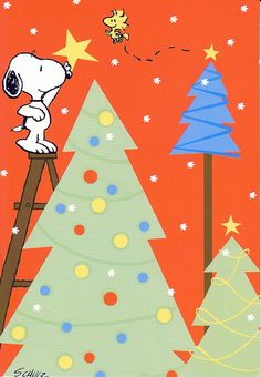 SNOOPY & WOODSTOCK~Decorate...