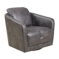 The Blakely swivel chairs feature convenient rotational movement and the ultimate comfort of a deep U shaped seating experience. With modern slim lines and intricate accented tufting on all sides, thi