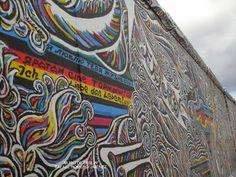 El Muro de Berlin.