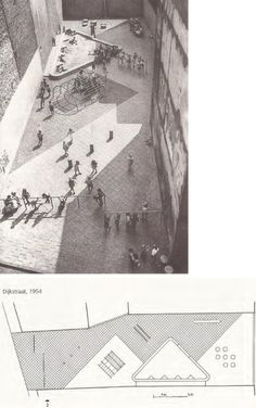 Aldo van Eyck - Areas de Juego Infantil en Amsterdam, 1954 - - - Back into your cells, Scumbags!