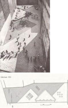 Aldo van Eyck - Areas de Juego Infantil en Amsterdam - 1954
