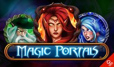 Leave the mundane behind and play the Magic Portals slot for free.  #Magic #Slot #Free #Play #Casino